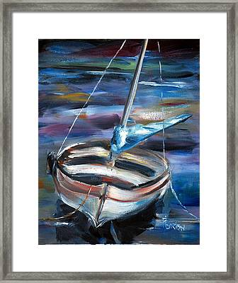 The Boat Framed Print by Phil Burton