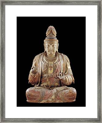 The Bodhisattva Guanyin Framed Print by Chinese School