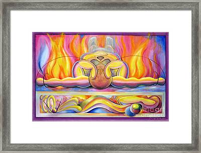 The Body Wave Framed Print by Alfred Dolezal