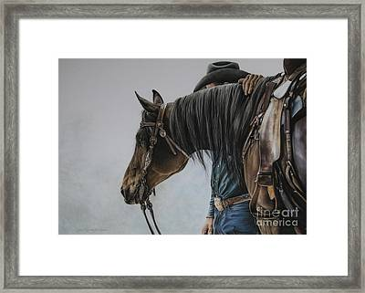 The Bond Framed Print