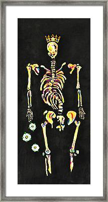 The Bones Of Richard IIi Framed Print by Jill Jacobs