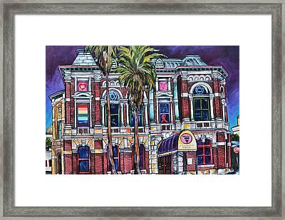 The Bonham Exchange Framed Print by Patti Schermerhorn