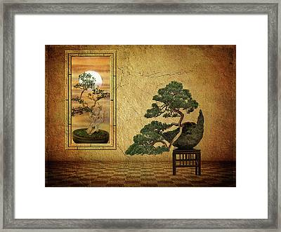 The Bonsai Room Framed Print by Jessica Jenney