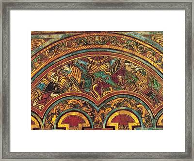 The Book Of Kells Framed Print