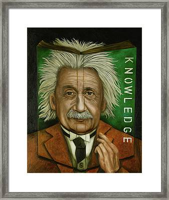 The Book Of Knowledge  Framed Print
