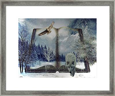 The Book Of Nature Framed Print
