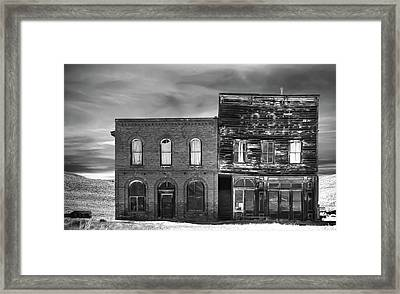 The Boot Building Framed Print