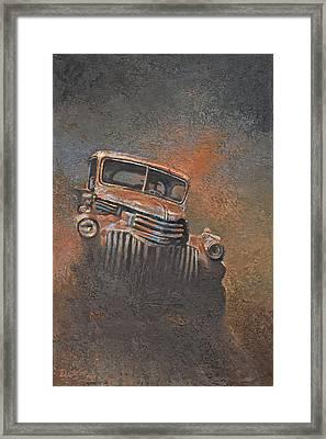 The Bootlegger Framed Print