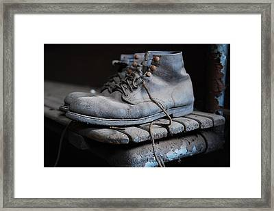 The Boots Framed Print by Eric Harbaugh