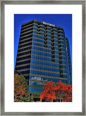 The Borland Atlanta Framed Print by Corky Willis Atlanta Photography