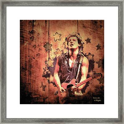 The Boss 1985 Framed Print