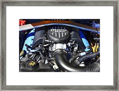 The Boss 302 Mustang Framed Print by Paul Mashburn