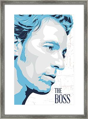 The Boss Framed Print by Ciaran Monaghan