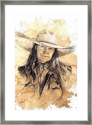 The Boss Framed Print by Debra Jones