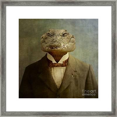 The Boss Framed Print