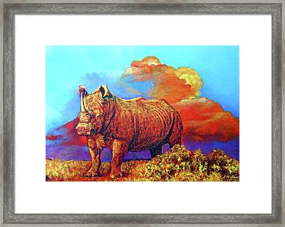 The Boss Framed Print by Michael Durst