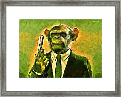 The Boss - Pa Framed Print