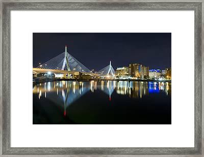 The Boston Bridge Framed Print