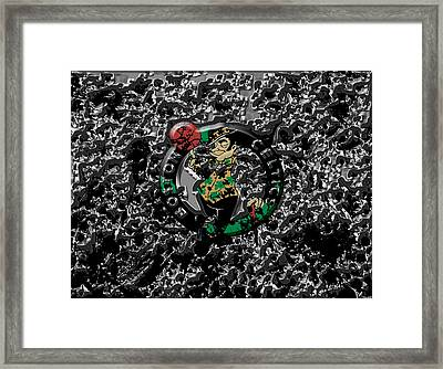 The Boston Celtics 1a Framed Print by Brian Reaves