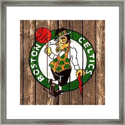 The Boston Celtics 2a Framed Print by Brian Reaves