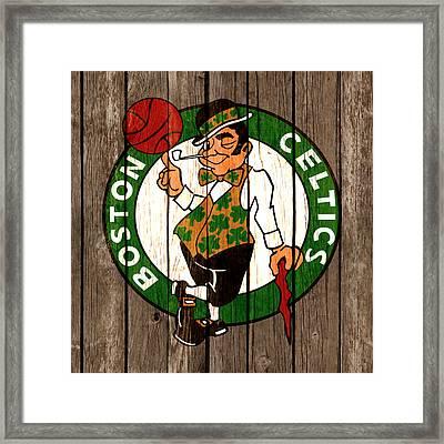 The Boston Celtics 2b Framed Print