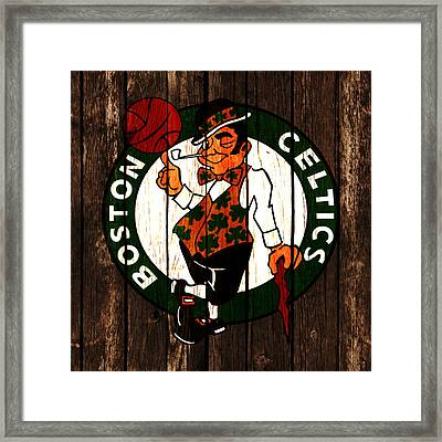The Boston Celtics 2d Framed Print by Brian Reaves