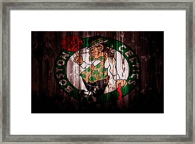 The Boston Celtics 5a Framed Print by Brian Reaves