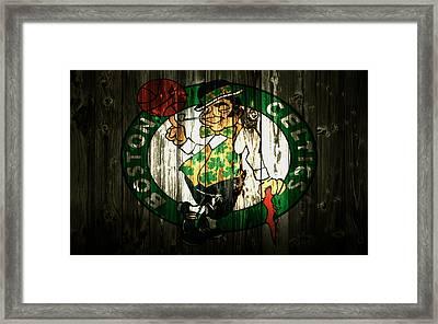 The Boston Celtics 5b Framed Print