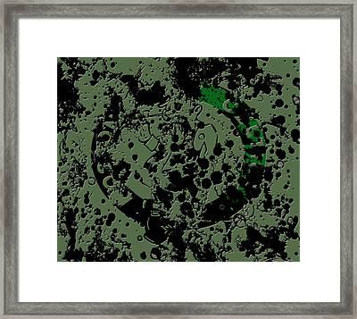 The Boston Celtics 6a Framed Print by Brian Reaves