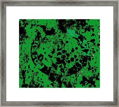 The Boston Celtics 6b Framed Print