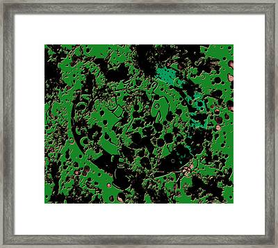 The Boston Celtics 6c Framed Print by Brian Reaves