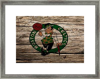 The Boston Celtics W1 Framed Print by Brian Reaves