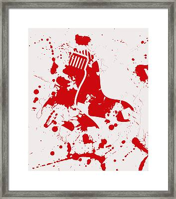The Boston Red Sox 1a Framed Print by Brian Reaves