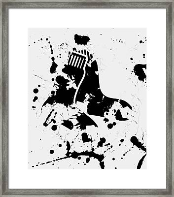 The Boston Red Sox 1c Framed Print by Brian Reaves