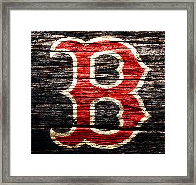 The Boston Red Sox 2a Framed Print by Brian Reaves