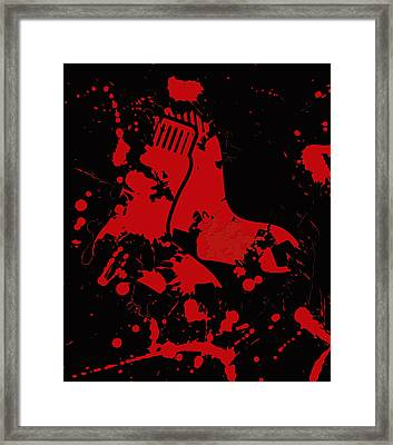 The Boston Red Sox Framed Print by Brian Reaves