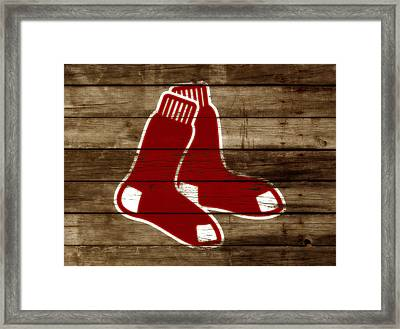 The Boston Red Sox W5 Framed Print