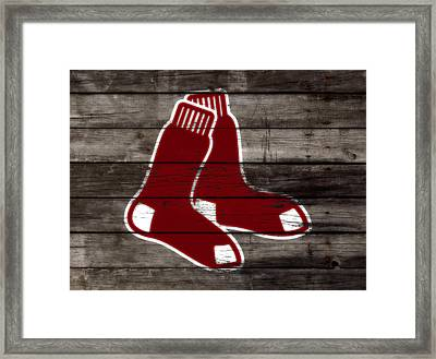 The Boston Red Sox W6   Framed Print