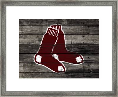 The Boston Red Sox W8  Framed Print
