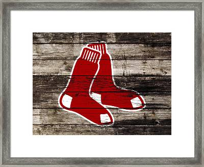 The Boston Red Sox W9   Framed Print by Brian Reaves