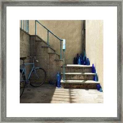 The Bottle Collector Framed Print