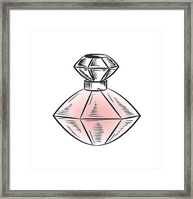 Framed Print featuring the digital art The Bottle by ReInVintaged