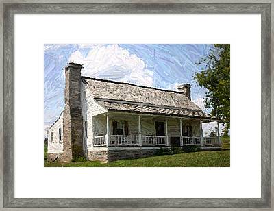 The Bottom House  - Perryville Ky Framed Print by Thia Stover