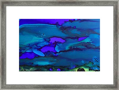 The Bottom Of The Sea Framed Print
