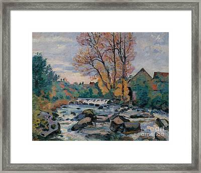 The Bouchardon Mill, Crozant Framed Print
