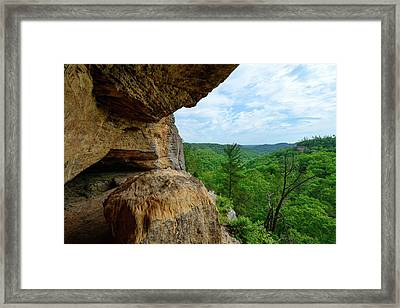 The Boulders Edge Framed Print