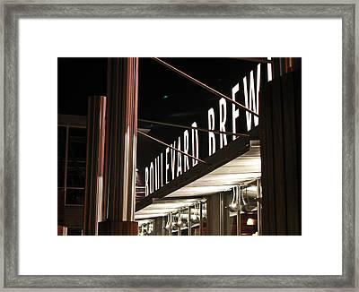 The Boulevard Deck Framed Print