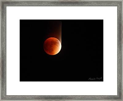 The Bouncing Eclipse Framed Print