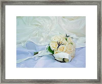 Framed Print featuring the photograph The Bouquet by Keith Armstrong