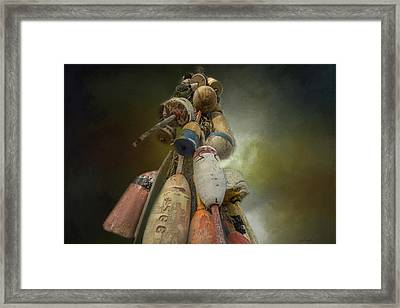 the Bouy Tree Framed Print by Mary Clough
